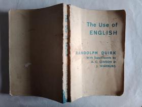 The Use of English (英语的使用)封面有点脏内页完好