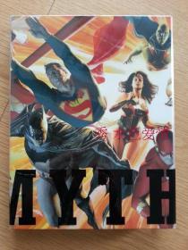 绝版亚历克斯罗斯画集设定集Mythology The DC Comics Art of Alex Ross