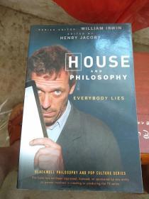 英文原版 House and Philosophy: Everybody Lies (The Blackwell Philosophy)