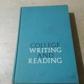 COLLEGE WRITING AND READING(大学写作与阅读)精装 1959版