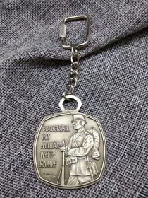 钥匙扣 瑞士 军事竞赛 1894 燧发枪手