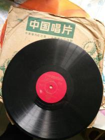 毛主席把珍宝撒出来,文革黑胶唱片一张二面。