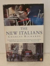 New Italians by Charles Richards (欧洲研究/意大利)英文原版书