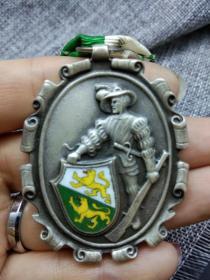 徽章 奖章 纪念章 瑞士 士兵 1961