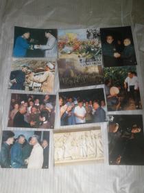 彩色大像片从战争时期到新中国成立的像片,大量毛主席图片。共28片,具有历史意义,现打包出售.