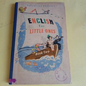 苏联出版的英文书 儿童英语 第2册