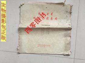 陆地卫星假彩色影象图--广西壮族自治区(全19张大2开 铜版纸精印\\一版一印\\印量1500册)