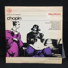 古典音乐黑胶唱片:肖邦 CHOPIN DISCOFOON ,DANIELE DECHENNE PIANO七八十年出版 大33转