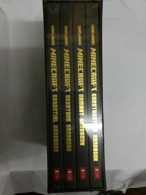 Minecraft: The Complete Handbook Collection 我的世界游戏完全手册 精装四册盒装 塑封全新
