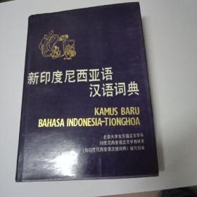新印度尼西亚语汉语词典