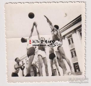 【任6件包邮挂】老照片收藏 篮球比赛 5.8*5.8cm