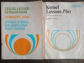 kernel lessons intermediate students'book,kernel lessons plus两本合售(无涂划,保存完好)