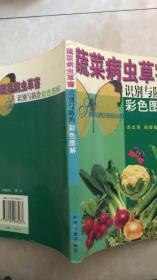 蔬菜病虫草害识别与防治彩色图解