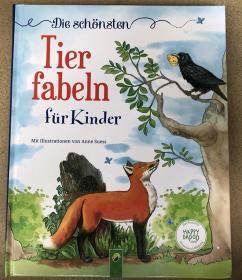 德语 精装 Die schönsten Tierfabeln für Kinder 儿童最美丽的动物寓言