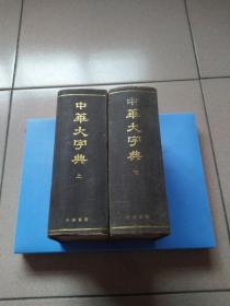 中华书局影印1935年《中华大字典》上下册