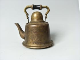 民国黄铜酒壶 古玩杂项杂件民间老物件 乡下一手货源农村旧货老货