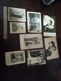 照片一堆---民国结婚等一家人的15张合售