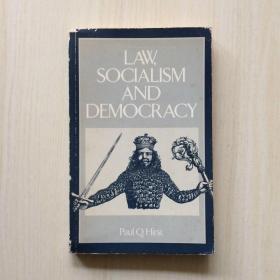 英文原版Law, Socialism and Democracy(RLE: Political Science)法律、社会主义和民主