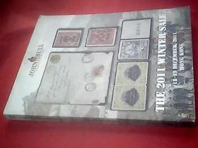 英文原版邮品拍卖图录:John Bull Stamp Auctions,Ltd  The 2011 Winter Sale 18-19 DECEMBER,2011 HONG KONG《英国约翰公牛邮票拍卖有限公司 2011年12月18--19日》