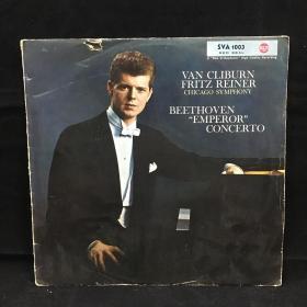 "古典音乐黑胶唱片:贝多芬""皇帝""协奏曲 Van Cliburn  Fritz Reiner  CHICAGO SYMPHONY BEETHOVEN"