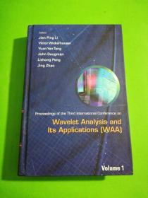 Wavelet Analysis andIts Applications ( WAA ]