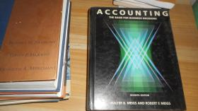 ACCOUNTING THE BASIS FOR BUSINESS DECISIONS 英文原版精装