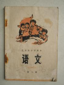 北京市小学课本语文第十册