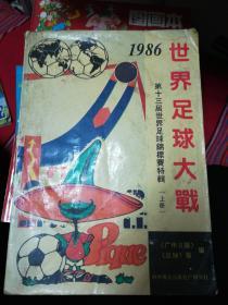 世界足球大战--第十三届世界足球锦标赛特辑上册
