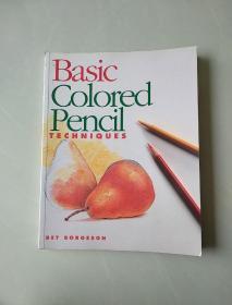 基本彩色铅笔技术Basic colored pencil techniques