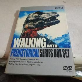 BBC《与古生物共舞全系列收藏版 Walking with Prehistorical Series》正版 DVD 碟片 光盘 电影系列)共13碟