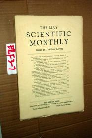 SCIENTIFIC MONTHLY 科学月刊1933年5月 多图片