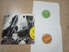 外文黑胶唱片      唱片基本全新无划痕      双碟