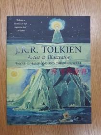 预售托尔金的艺术插画  英版 平装J. R. R. Tolkien: Artist and Illustrator