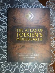 预售中土世界地图新版 The Atlas of Tolkien's Middle-Earth