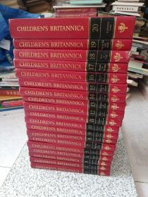 CHILDREN'S BRITANNICA 全20册  缺第6册  19本合售   精装本