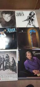黑胶木唱片 共6张合售 8O年代