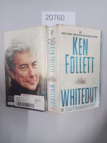 英文原版 】Whiteout, Ken Follett,0451215710, Book, Acceptable