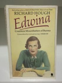 缅甸的蒙巴顿女伯爵 Edwina Countess Mountbatten of Burma  by Richard Hough (英国史)英文原版书