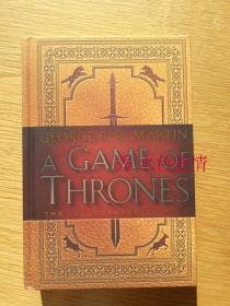一印权力的游戏20周年插图版美版 A Game of Thrones: The Illustrated Edition: A Song of Ice and Fire: Book One