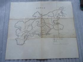 旅顺附近图,老地图。