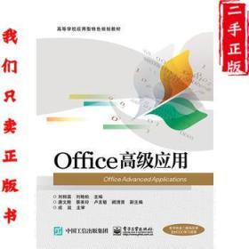 Office高级应用 刘相滨 电子工业出版社 9787121276927