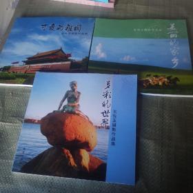 王佐玉摄影作品集:可爱的祖国/美丽的家乡/多彩的世界/三本共售