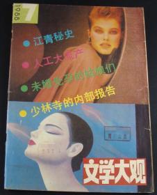 文学大观1988年第7期