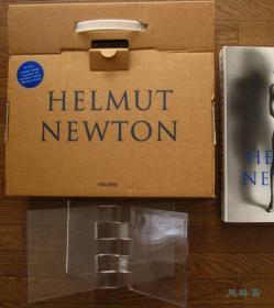 赫尔穆特·牛顿《Helmut Newton Sumo》 Taschen豪华摄影集 8开新装普及本 附亚克力翻书台