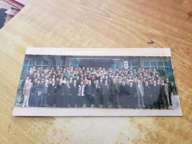 全国水库银鱼移植增殖暨渔业经济研讨会原版老照片1张(1995年10月于常州武进洛阳)(特别大尺幅)