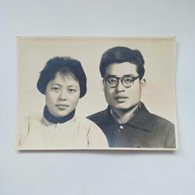 老照片:六十年代结婚照