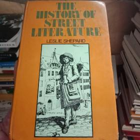 正版现货 外文原版 THE HISTORY OF STREET LITERATURE