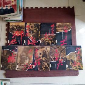 中国抗战大写真系列 11册合售