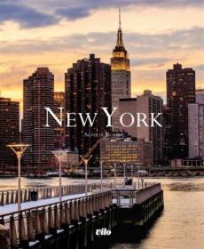 法文 法语 New York 纽约风光 美景 法国原版画册 Vilo