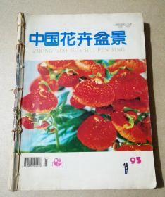 中国花卉盆景(1995年1-3.7.10-12期)7本合订